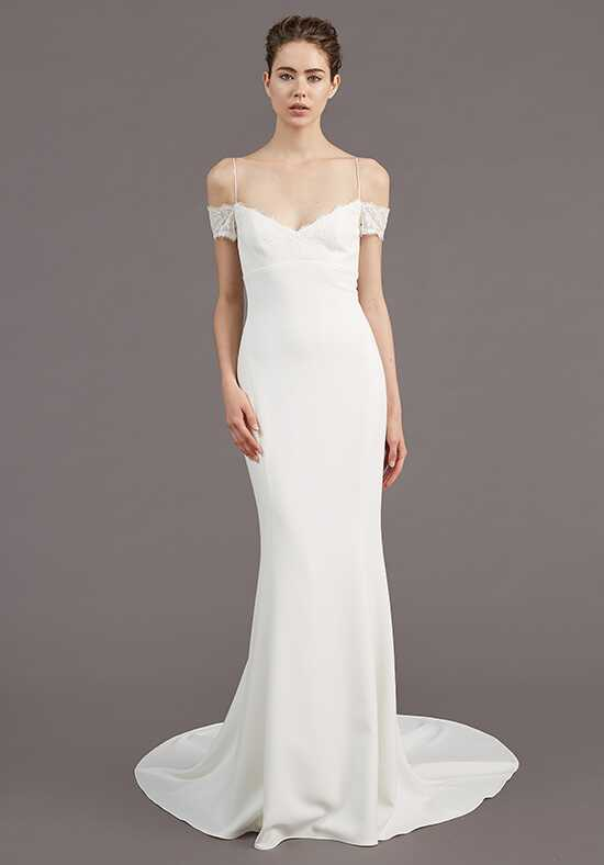 Amsale Mel Sheath Wedding Dress