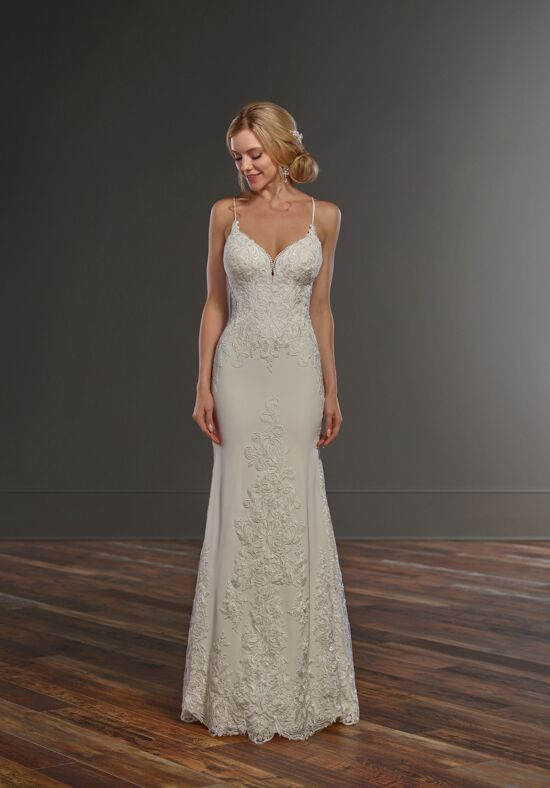 Martina Liana 929 Sheath Wedding Dress