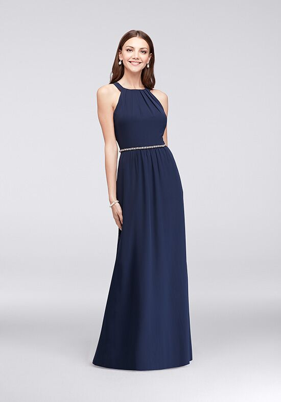 David's Bridal Mother of the Bride 111087DB Blue Mother Of The Bride Dress