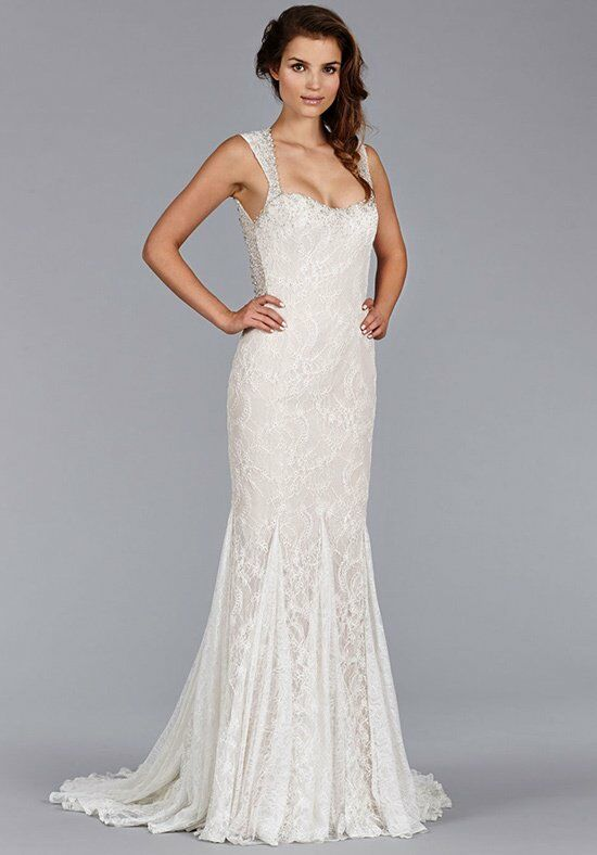 Jim Hjelm 8453 Mermaid Wedding Dress