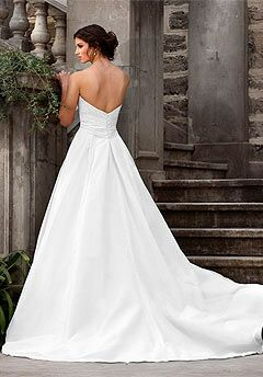 Essense of Australia D1032 A-Line Wedding Dress