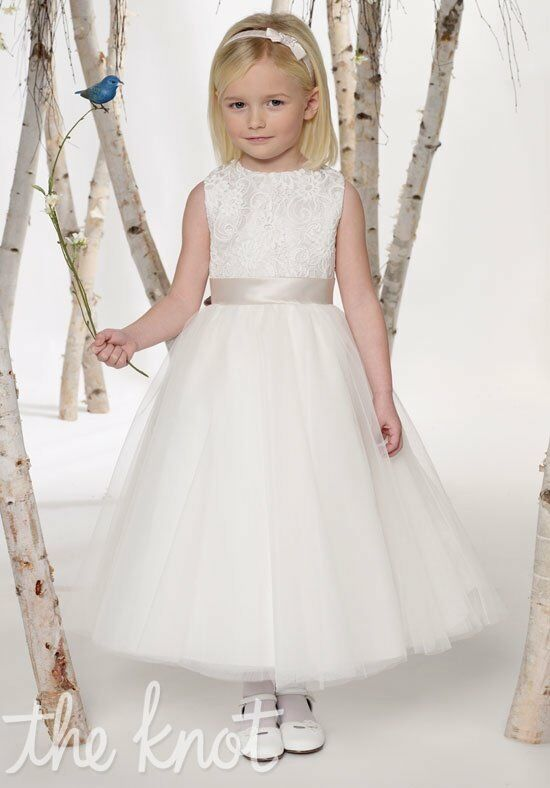 Joan Calabrese by Mon Cheri 211301 Flower Girl Dress