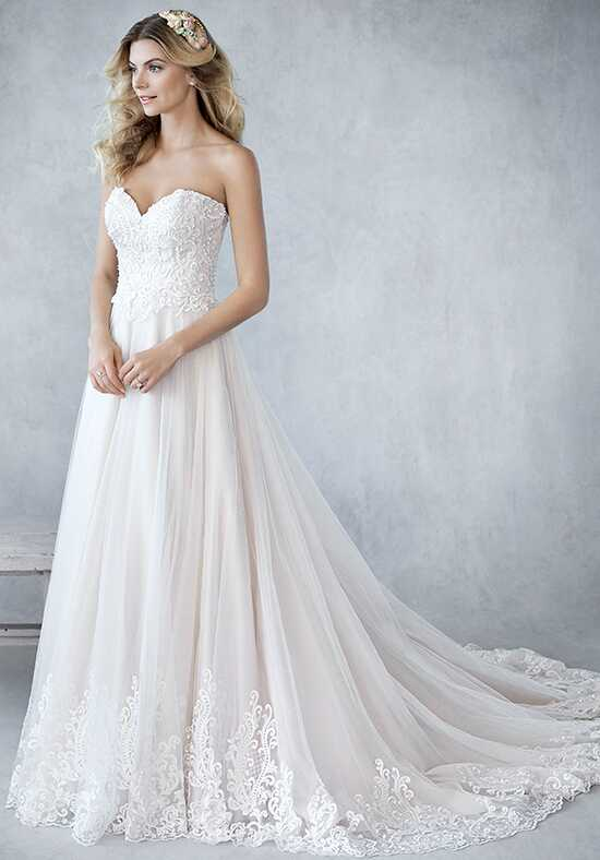 Kenneth Winston: Ella Rosa Collection BE433 A-Line Wedding Dress