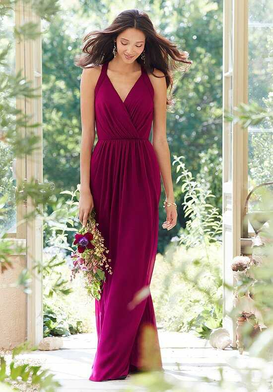 Hayley Paige Occasions 5550 V-Neck Bridesmaid Dress