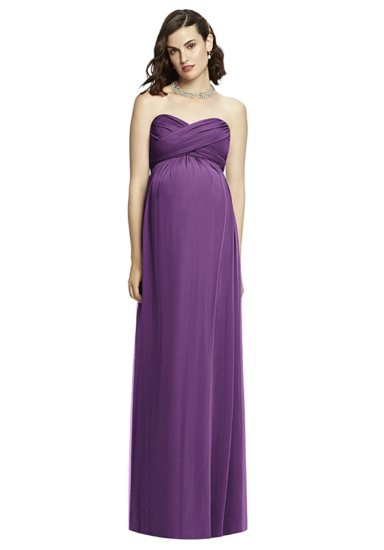 Dessy Collection M426 Strapless Bridesmaid Dress