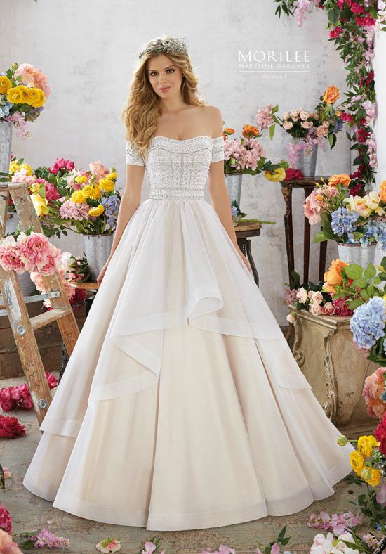 Morilee by Madeline Gardner/Voyage 6854 Ball Gown Wedding Dress