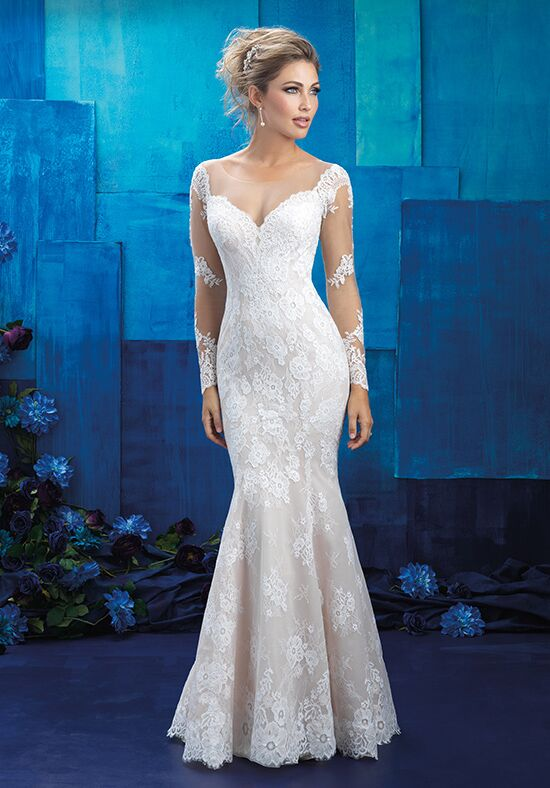 Allure Bridals 9424 Sheath Wedding Dress