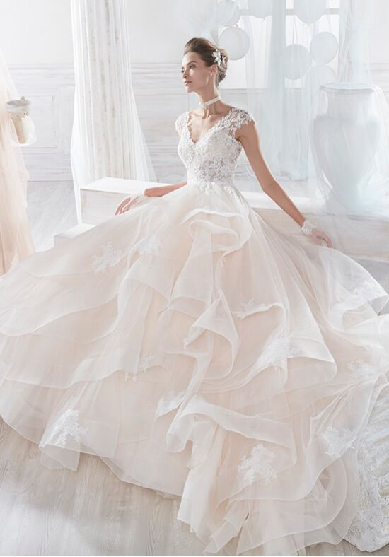 Nicole Collection 2018 NIAB18062 Ball Gown Wedding Dress