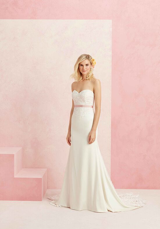 Beloved by Casablanca Bridal BL221 Affection Sheath Wedding Dress