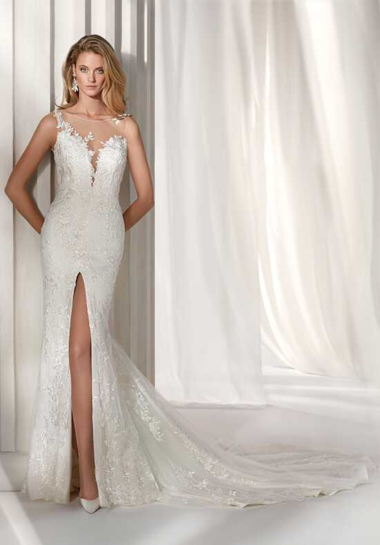Nicole Milano 2019 Collection NIAB19101 Mermaid Wedding Dress