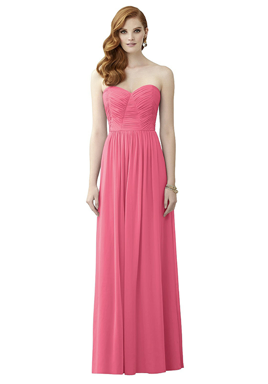 Dessy Collection 2957 Sweetheart Bridesmaid Dress