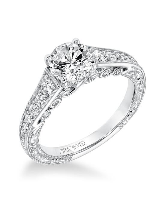 ArtCarved 31-V691ERW-E.00 Engagement Ring photo
