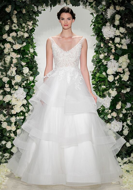Anne Barge Wellesley Ball Gown Wedding Dress