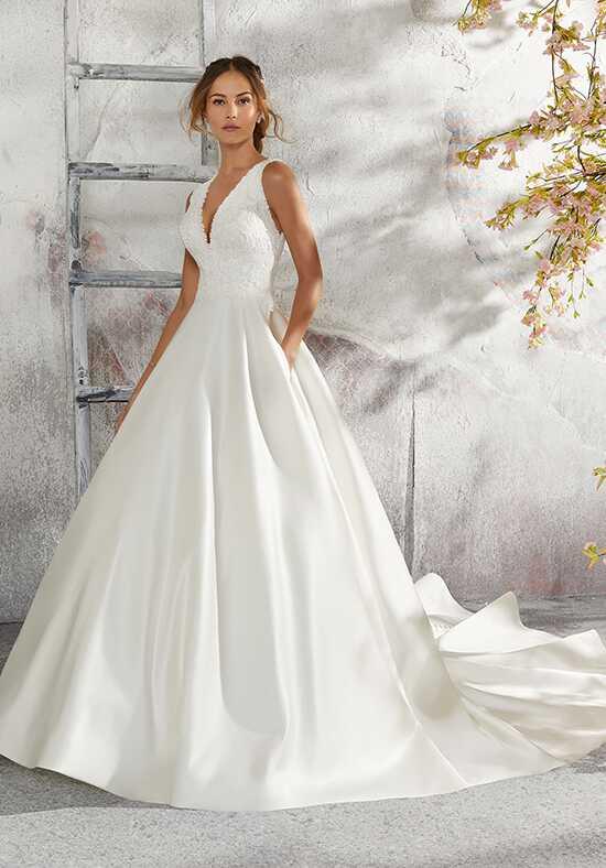 Ball gown wedding dresses morilee by madeline gardnerblu junglespirit Gallery