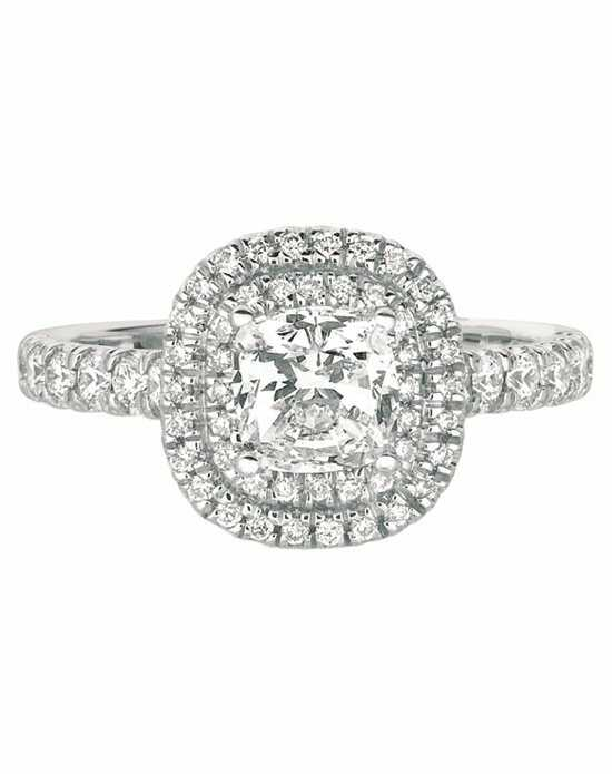 FlyerFit by Martin Flyer Cushion Cut Engagement Ring