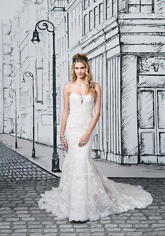 Justin Alexander 8884 A-Line Wedding Dress