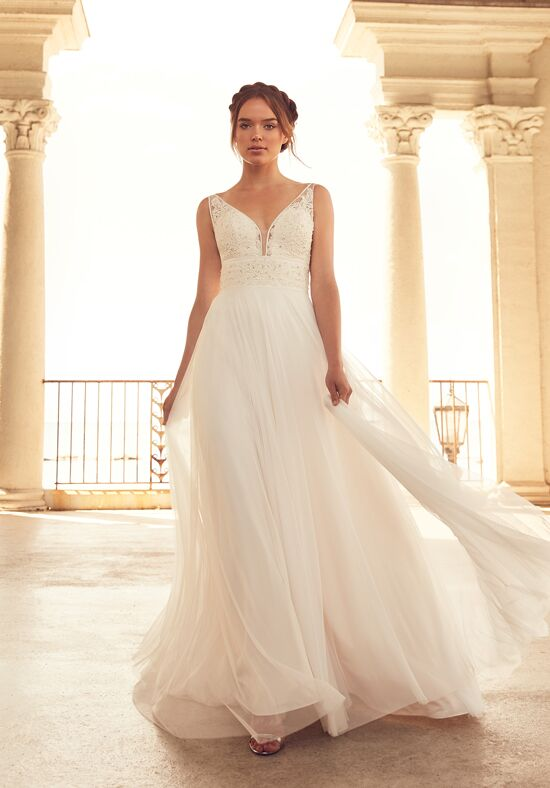 Paloma Blanca 4788 A-Line Wedding Dress