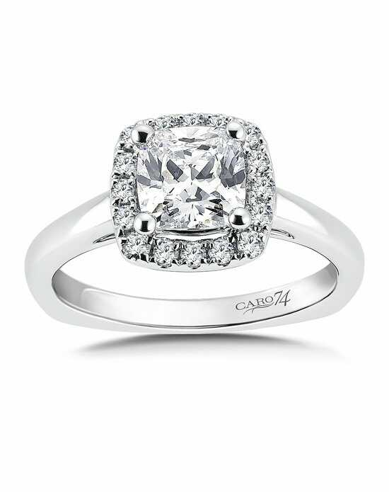 caro 74 - Wedding Ring Princess Cut