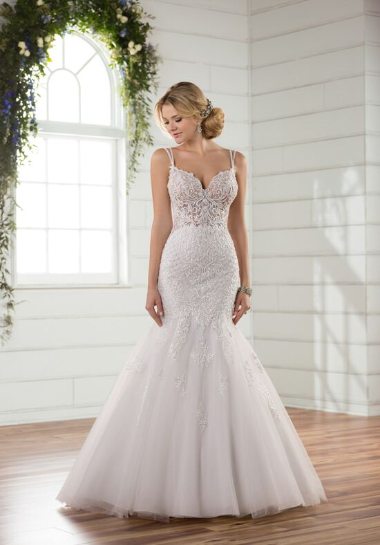 Essense of Australia D2365 Mermaid Wedding Dress