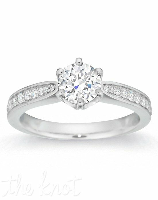 Gemesis Gemesis Pave-Set Round White Gold Wedding Ring