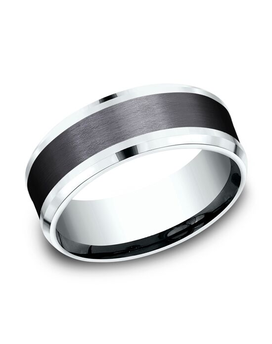 Benchmark CF458010BKT14KW White Gold Wedding Ring