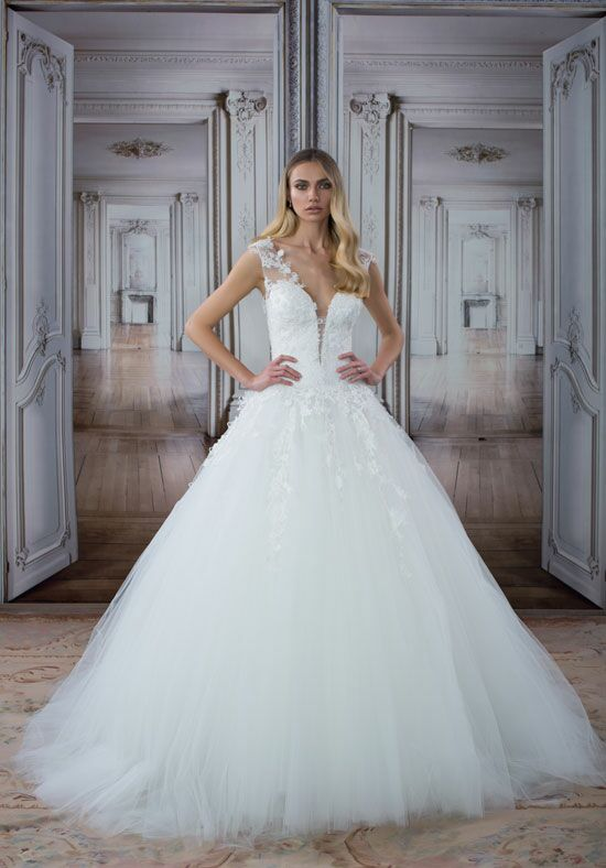 LOVE by Pnina Tornai for Kleinfeld 14485 A-Line Wedding Dress