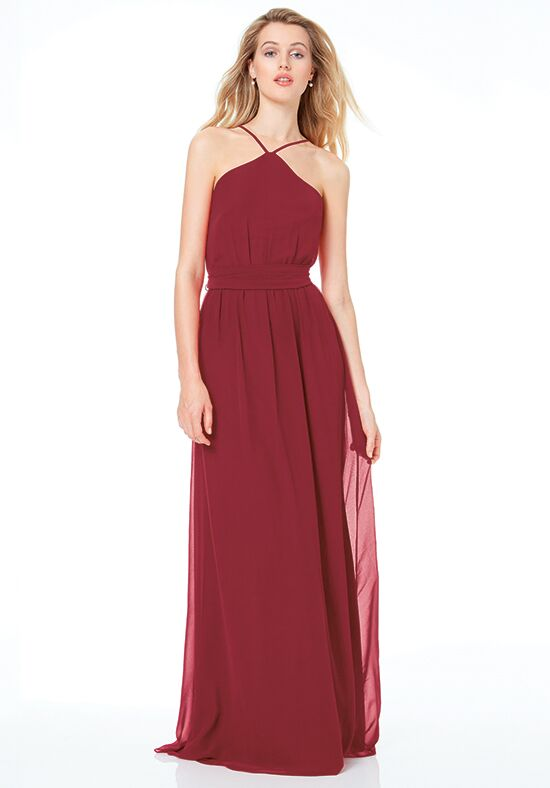 #LEVKOFF 7036 Halter Bridesmaid Dress