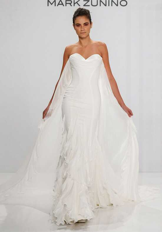 Mark Zunino for Kleinfeld 193 Sheath Wedding Dress