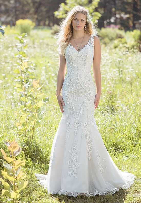 Lillian West 6486 Mermaid Wedding Dress