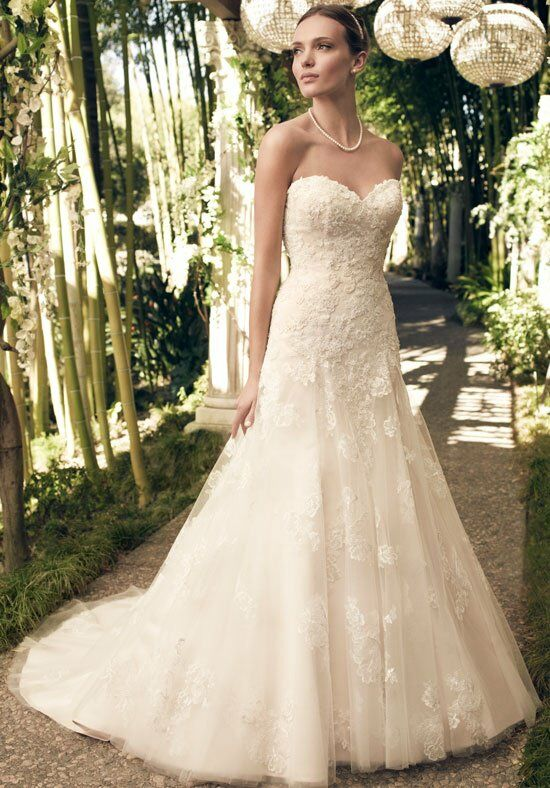 Casablanca Bridal 2168 A-Line Wedding Dress