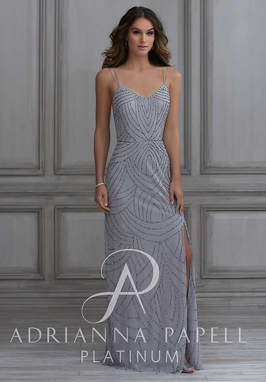 Adrianna Papell Platinum 40116 Sweetheart Bridesmaid Dress