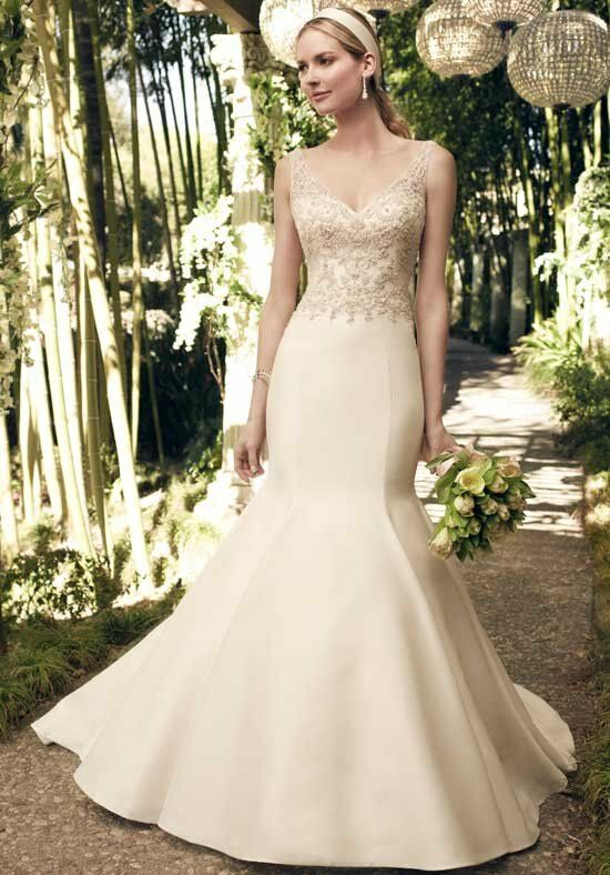 Casablanca Bridal 2175 Mermaid Wedding Dress
