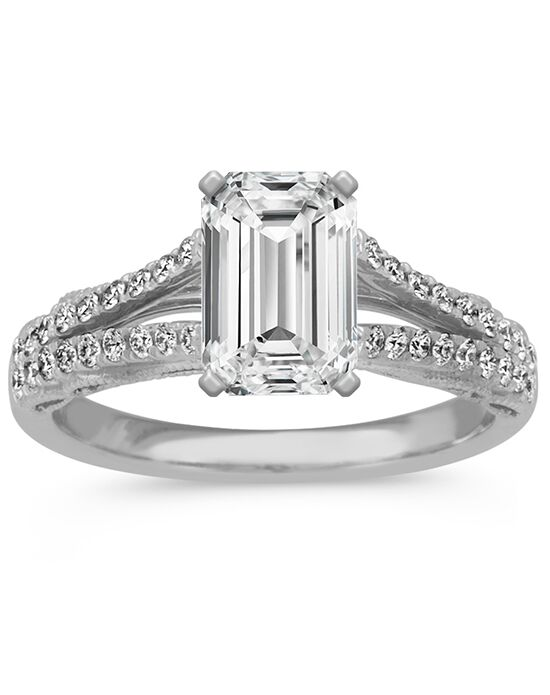 Shane Co. Vintage Princess, Asscher, Cushion, Emerald, Heart, Marquise, Pear, Radiant, Round, Oval Cut Engagement Ring