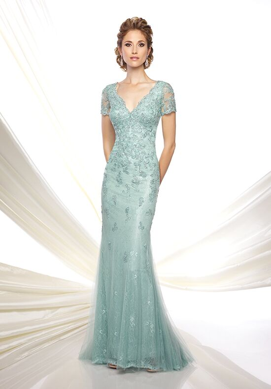 Ivonne D. 116D32 Green Mother Of The Bride Dress