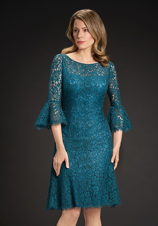 Jasmine Black Label M190059 Blue Mother Of The Bride Dress