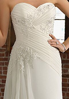 Morilee by Madeline Gardner/Blu 4804 Sheath Wedding Dress