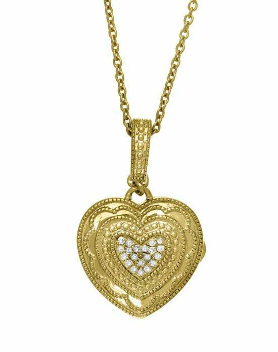 With You Lockets Rose Necklace (Gold) Gold