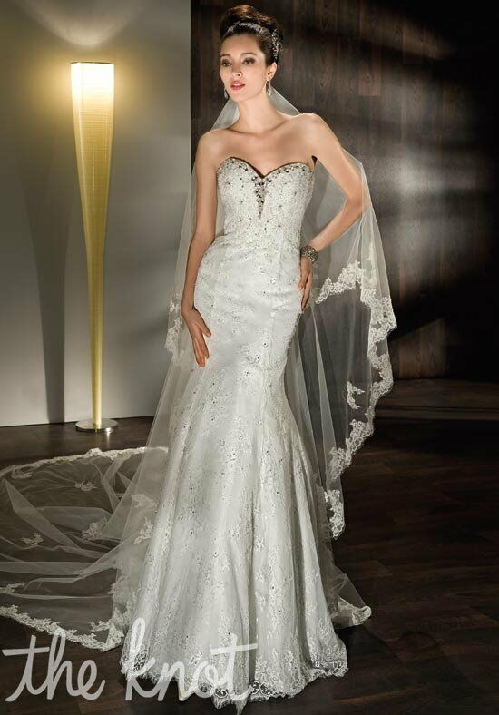 Demetrios 1422 Sheath Wedding Dress