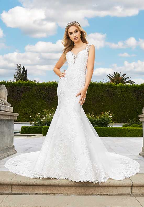 Moonlight Couture H1349 Mermaid Wedding Dress