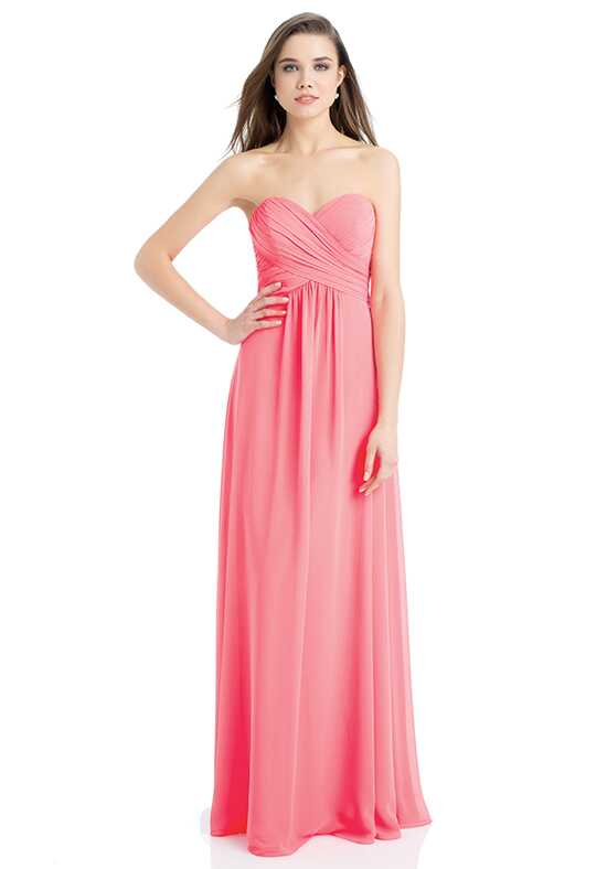 Bill Levkoff 742 Strapless Bridesmaid Dress