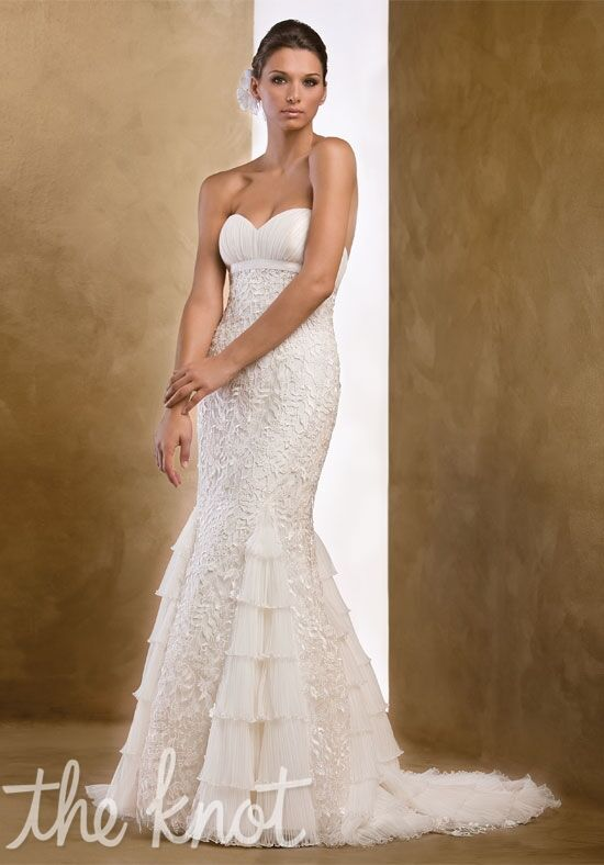 Pattis Caresse Mermaid Wedding Dress