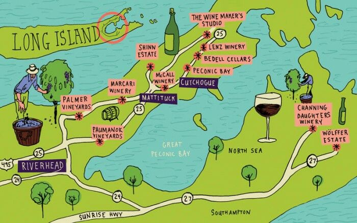 South Fork Long Island Wineries