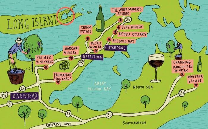 Long Island Wine Country App