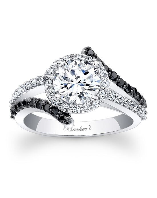 Barkev's Round Cut Engagement Ring