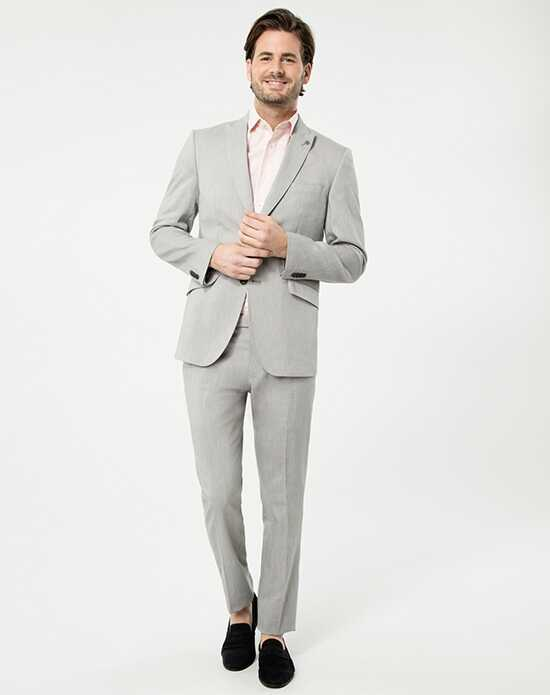 LE CHÂTEAU Wedding Boutique Tuxedos MENSWEAR_353067_009 Gray Tuxedo