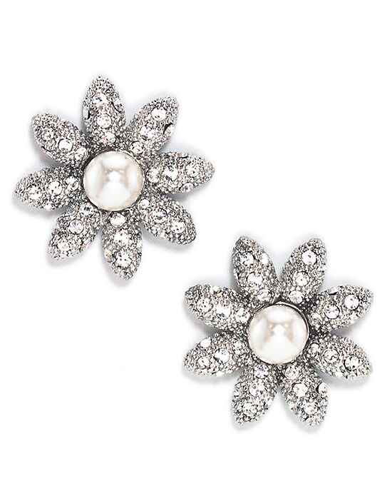 Anna Bellagio DAISY CRYSTAL AND PEARL EARRING Wedding Earring photo
