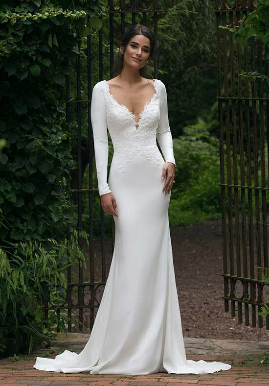 Sincerity Bridal 44045 Sheath Wedding Dress