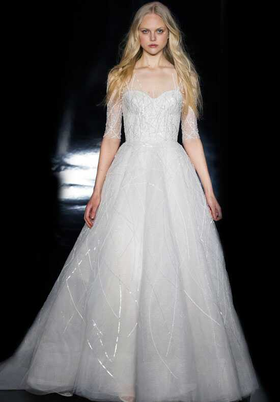 Reem Acra Elisabetta Ball Gown Wedding Dress