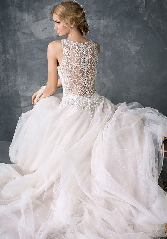 Kenneth Winston 1776 Ball Gown Wedding Dress