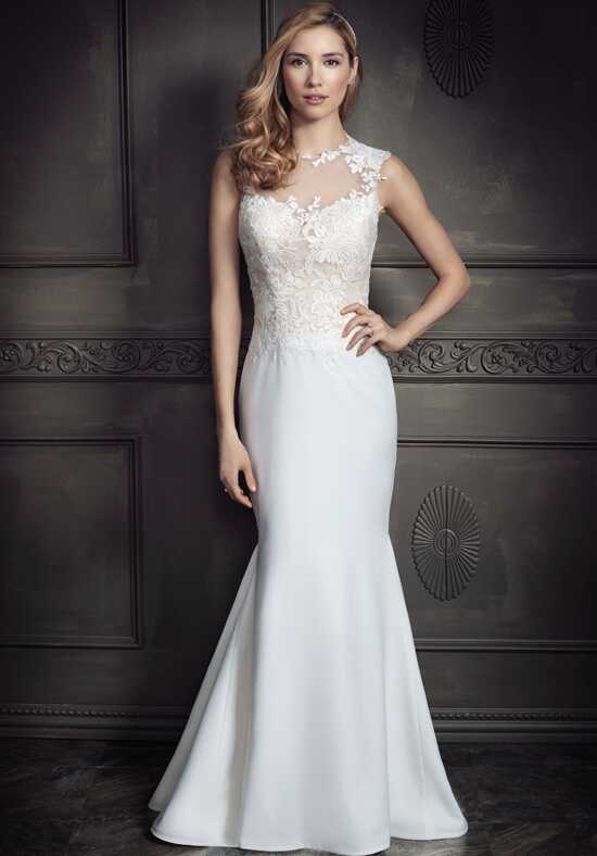 Kenneth Winston: Ella Rosa Collection BE337 Sheath Wedding Dress